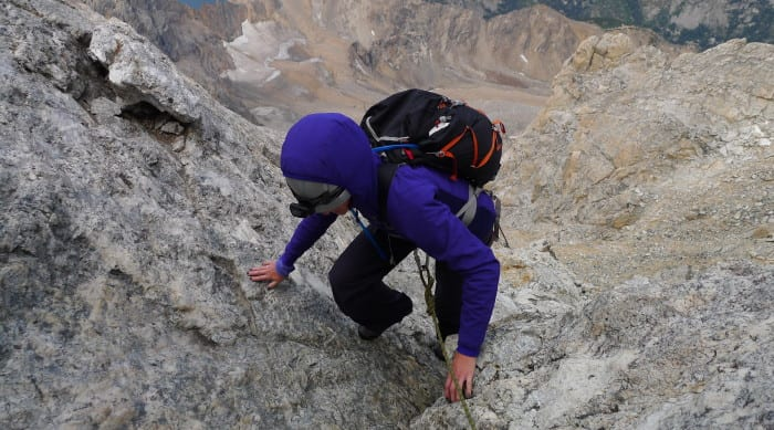 Picture of Single Day Teton Rock Climbing Objectives