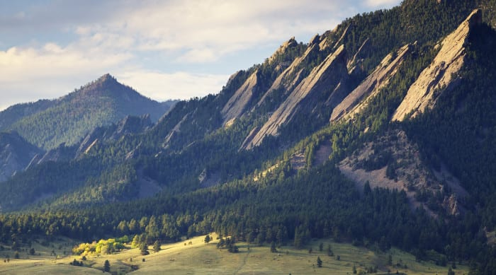 Picture of Climbing the Flatirons