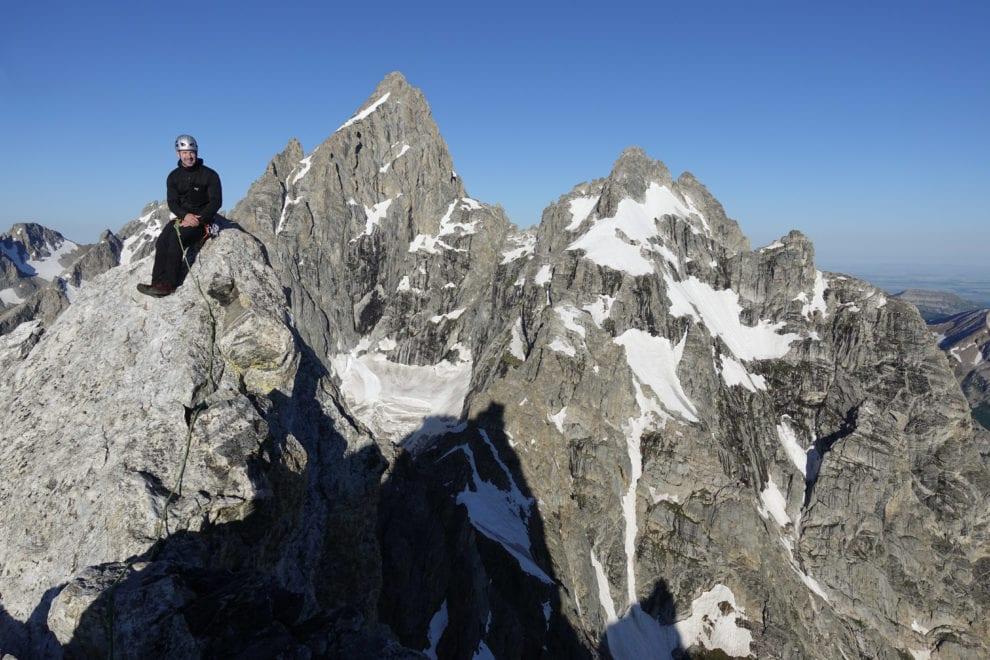 teton summit climb