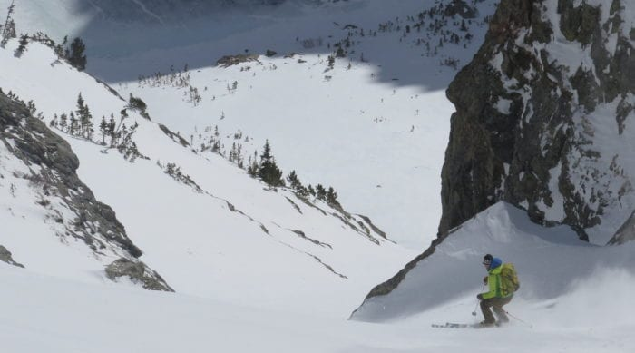 Picture of Rocky Mountain Backcountry Skiing and Ski Mountaineering